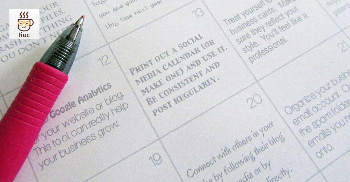 10 consejos para organizar tu día