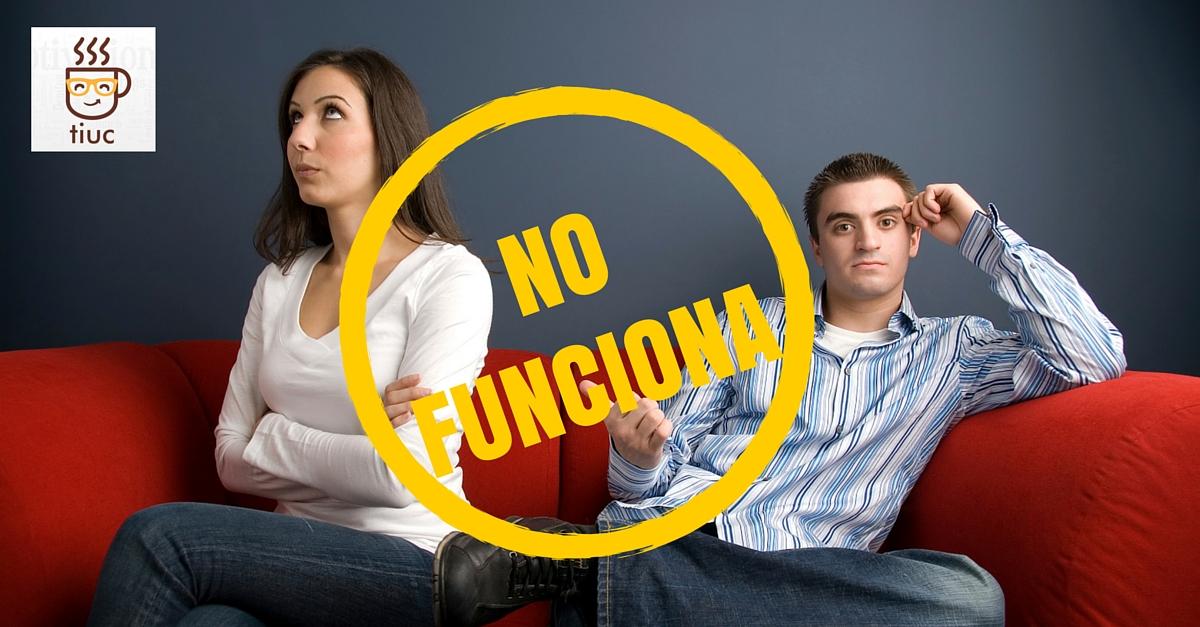 La terapia de pareja NO funciona: 5 razones