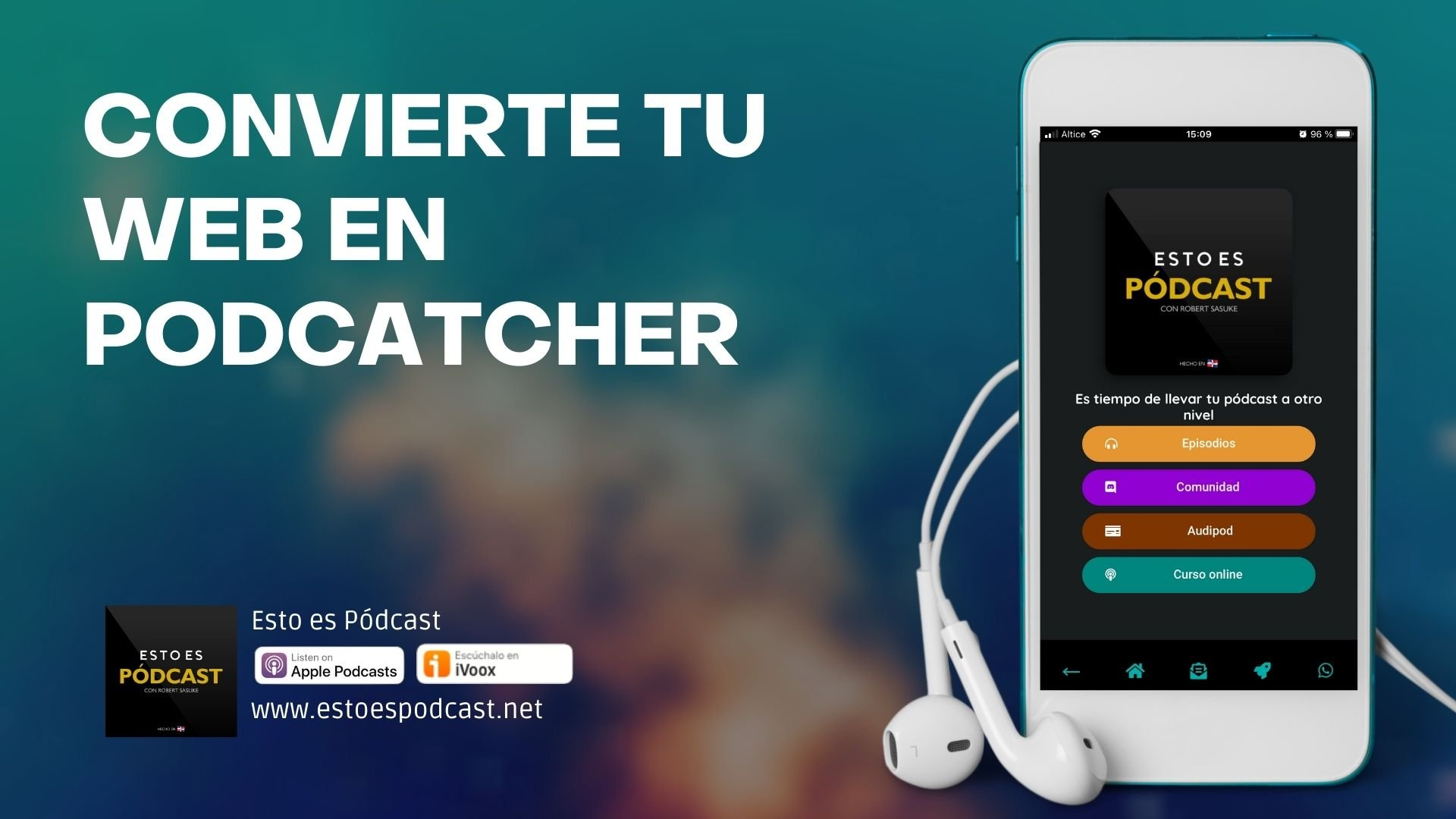 Convierte tu web en un podcatcher con Wordpress