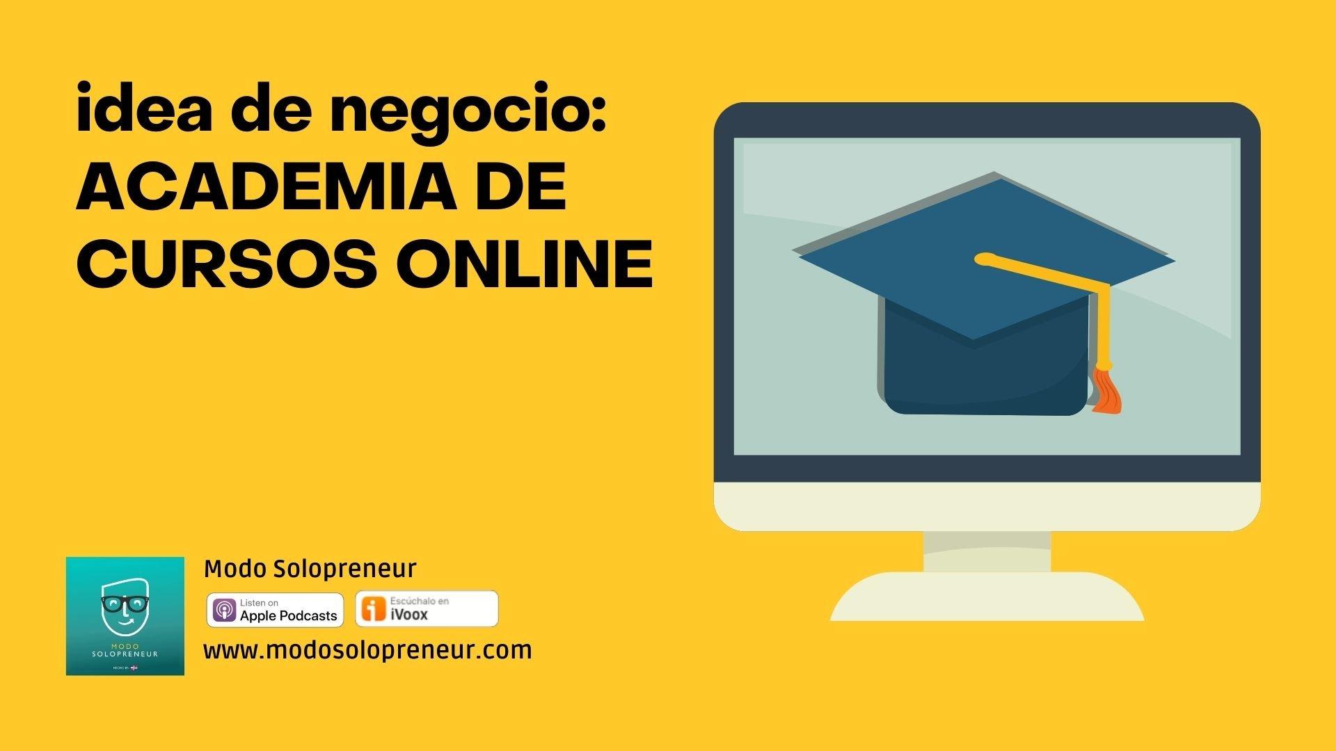 Idea de negocio: academia online de nichos